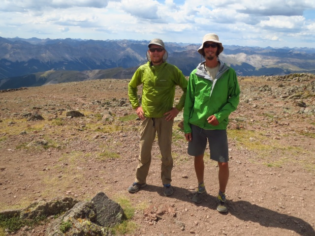 The summit of Uncompahgre.