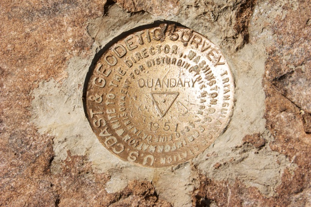 Quandary summit marker.